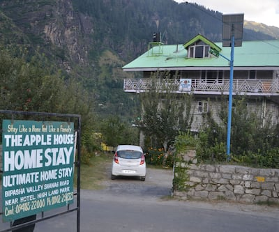 Hotel The Apple House,Manali